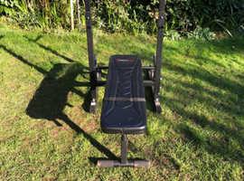 Sports tech weights bench