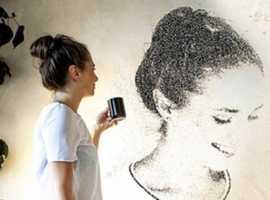 You make Art spray painting walls ?