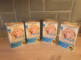 4x Ultra Blonde Hair Dyes