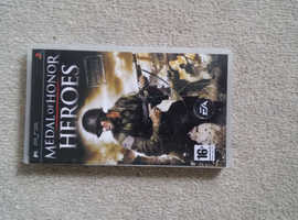 Medal of honour. Psp game disk