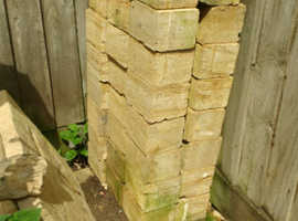 47 Golden Natural Hamstone Blocks, Smooth Dressed Faces all round.