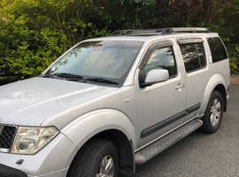 Nissan Pathfinder, 2006 (06) Silver 4x4, Automatic Diesel, 59,000 miles