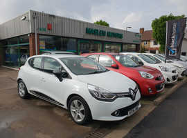 Renault Clio, 2014 (14) White Hatchback, Manual Petrol, 60,952 miles