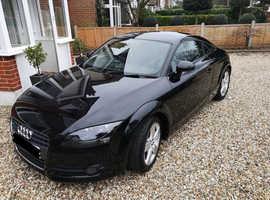 Black Audi TT 2.0 TFSI Turbo engine, 2008(58), LONG MOT 12.12.19 £6300 OR NEAREST OFFER