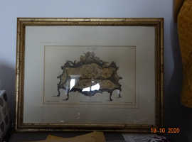 Thomas Chippendale prints on card  Reproduction