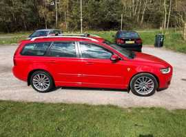 Volvo S40/V50 SERIES, 2009 (09) Red Estate, Manual Diesel, 108,500 miles