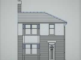 Architectural services,Planning permission submissions,Drawings,Extensions plans,loft conversions plans
