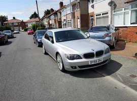 BMW 7 Series, 2005 (55) Silver Saloon, Automatic Diesel, 164,023 miles