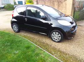 Peugeot 107, 2008 (08) Black Hatchback, Semi auto Petrol, 49,288 miles