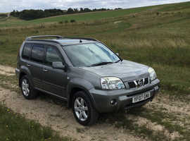 Nissan X-TRAIL, 2007 (07) Grey Estate, Manual Diesel, 142,000 miles