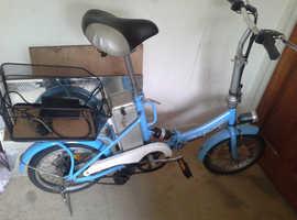 electric bike folding