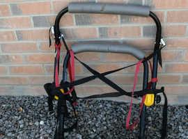 Halfords single bicycle car rack