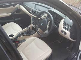 BMW X1, 2014 (14) Black Estate, Manual Diesel, 44,600 miles