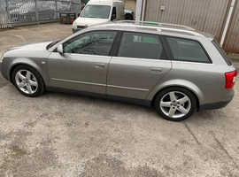 Audi A4 Avant 1.9tdi Quattro Sport 2003 (03) Grey Estate, Manual Diesel, 177,500 miles