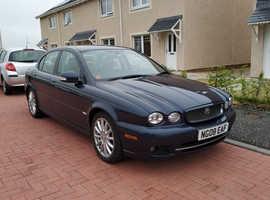 Jaguar X-TYPE, 2008 (08) Blue Saloon, Manual Diesel, 158,000 miles