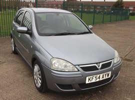 Vauxhall Corsa, 2005 (54) Silver Hatchback, Automatic Petrol, 60,834 miles