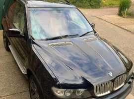 BMW X5, 2006 (06) Black Estate, Automatic Petrol, 124,000 miles
