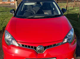 MG MG 3, 2016 (16) Red Hatchback, Manual Petrol, 41,627 miles
