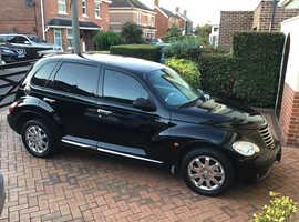 Chrysler Pt Cruiser, 2007 (57) Black Hatchback, Automatic Petrol, 39,000 miles
