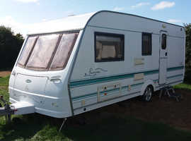 2001 Coachman Pastiche 520/4 Birth Caravan