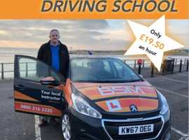 Learn to drive at Clinton's Driving School