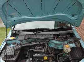 Vauxhall Corsa, 2005 (55) Blue Hatchback, Manual Petrol, 74,000 miles