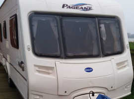 2005 Bailey Pageant Bordeaux 4 berth Fixed Bed caravan