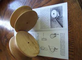Walking Stickmakers Wooden Bending Rolls