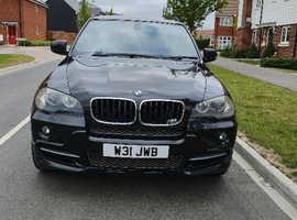 BMW X5, 2007 (57) Black Estate, Automatic Diesel, 135,000 miles