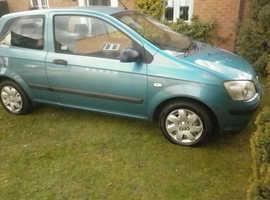 Hyundai Getz, 2004 (04) Blue Hatchback, Manual Petrol,