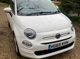 Fiat 500, 2015 (65) White Manual MOT Dec
