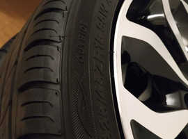18 inch alloys and tyres