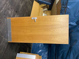15 interior fire safety doors. Solid wood with furniture
