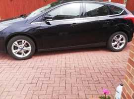 Ford Focus, 2012 (61) Black Hatchback, Manual Petrol, 101,000 miles
