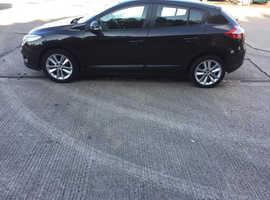 Renault Megane, 2010 (10) Black Hatchback, Manual Diesel, 145,000 miles
