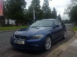 BMW 3 Series, 2010 (10) Blue Saloon, Manual Diesel, 183,000 miles