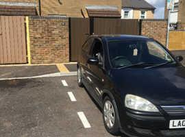 Vauxhall Corsa, 2006 (06) Black Hatchback, Manual Petrol, 082,458 miles