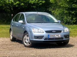 2005 (55) FORD FOCUS 2.0 GHIA 5 Dr Hatchback in ICE BLUE, MOT SEPT, WELL SPEC'D Nice Looking Car