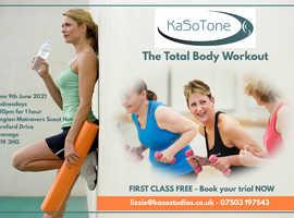 NEW TONING CLASS - KaSo tone 1 hr class Langton Matravers - first class free!