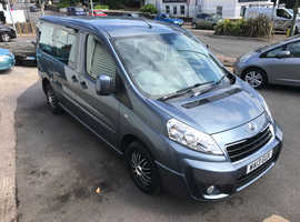 2013 PEUGEOT EXPERT TEPEE 2.0 HDi AUTO, DISABLED WHEELCHAIR ACCESS
