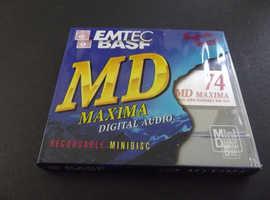 Emtec maxima 74 Rare Collectable recordable Minidisc