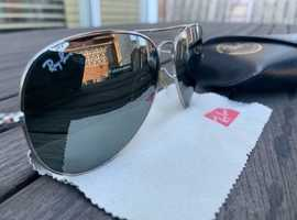 Ray-Ban Sunglasses Aviator Large Metal RB3025 W3277