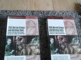 Family history discs of cencus, different  areas of Britain