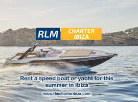 Rent speed boats & yachts this summer in Ibiza
