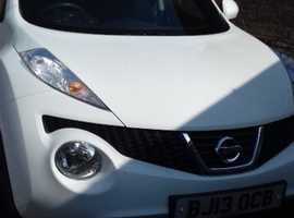 Nissan Juke, 2013 (13) White Hatchback, Manual Petrol, 57,927 miles