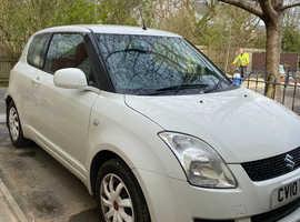 Suzuki Swift, 2010 (10) White Hatchback, Manual Petrol, 97,300 miles