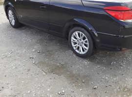 Vauxhall Astra, 2009 (09) Black Convertible, Manual Petrol, 50,000 miles