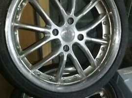 """17"""" alloys to RS replicas, Ford, Citreon or Peugeot."""