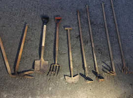 Selection of everyday gardening tools