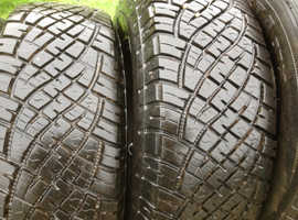Diahatsu Fourtrak wheels and tyres x5
